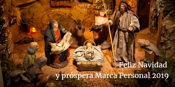 Feliz Navidad y próspera Marca Personal 2019