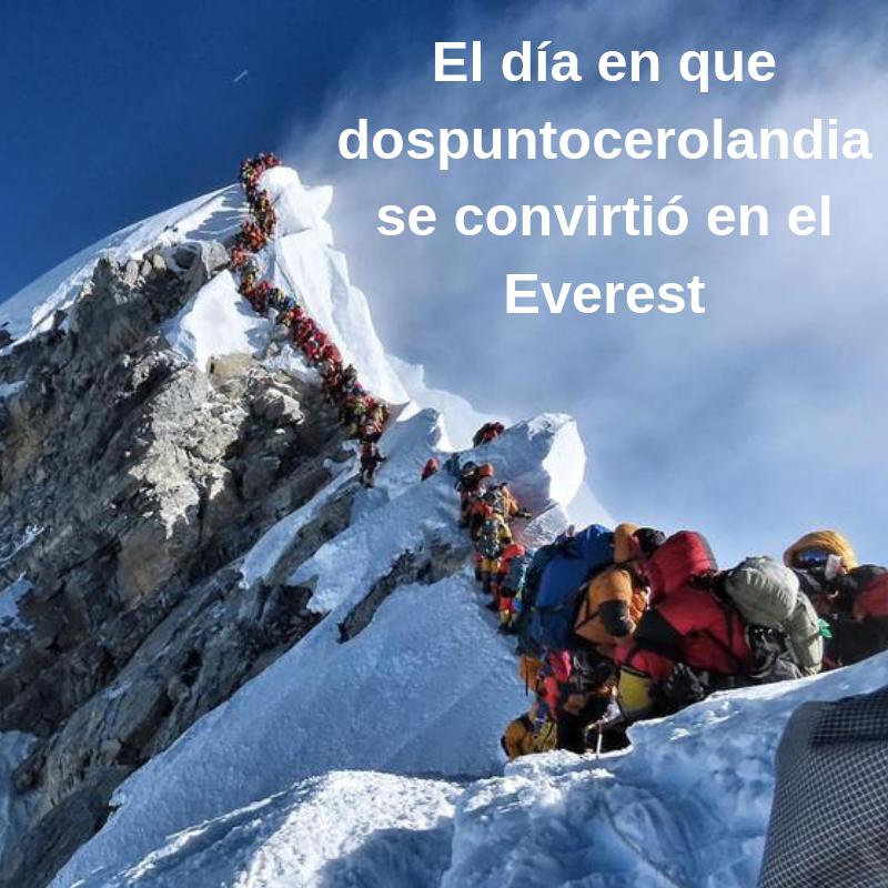 Dospuntocerolandia y el Everest