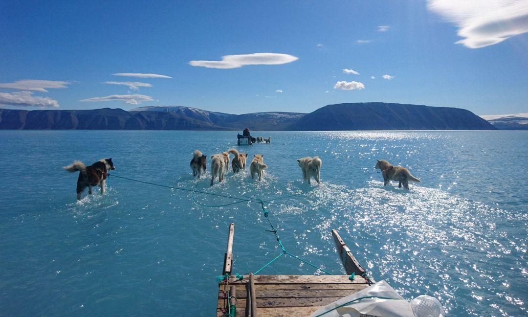 Postureo y deshielo (o no) en Groenlandia