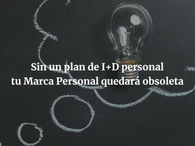 Innovación, tu plan de I+D Personal