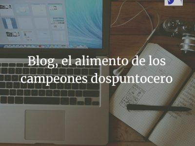 Blog, mucho más que visibilidad