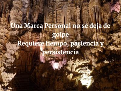 Persistencia, la insistencia deja huella