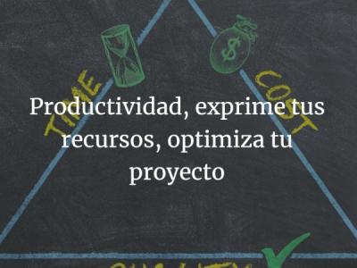 Productividad, más con menos
