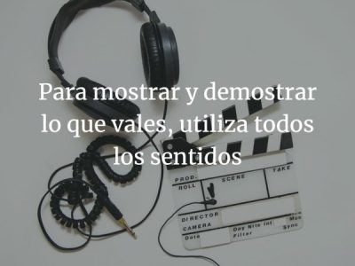 Broadcast, audio y vídeo para demostrar lo que vales
